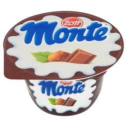Monte Deser mleczny z czekoladą i orzechami