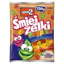 Śmiejżelki Happies Żelki owocowe wzbogacone witamina...