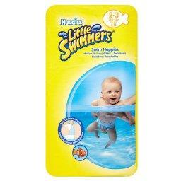 Little Swimmers Jednorazowe majteczki do pływania rozmiar 2-3 12 sztuk