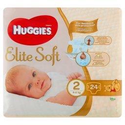 Elite Soft Pieluchy 2 4-6 kg 24 sztuki