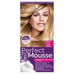 Perfect Mousse Trwała pianka koloryzująca Złocisty blond 950