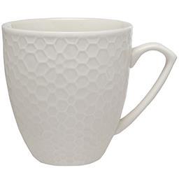 Kubek porcelanowy HONEY biały 350 ml