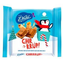 Chrrrup! Czekolada mleczna z wafelkami i chrupkami