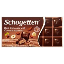 Czekolada z kakao i orzechami laskowymi 100 g