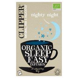 Herbata ułatwiająca zasypianie organiczna  (20 torebek)