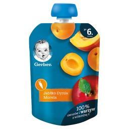 Deserek jabłko dynia morela dla niemowląt po 6. mies...