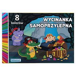 Schemat Wycinanka samoprzylepna A4 8 kolorów