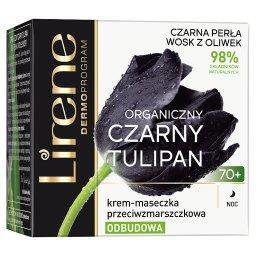 Organiczny czarny tulipan 70+ Krem-maseczka przeciwz...