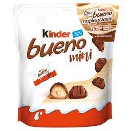 Bueno Mini Wafel w mlecznej czekoladzie wypełniony m...