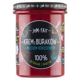 Jem Fair Krem z buraków z mlekiem kokosowym