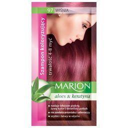 Szampon koloryzujący Marion 4-8 myć, Wiśnia 97