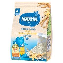 Kaszka mleczno-ryżowa wanilia dla niemowląt po 4. mi...