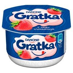 Gratka Deser o smaku truskawkowym