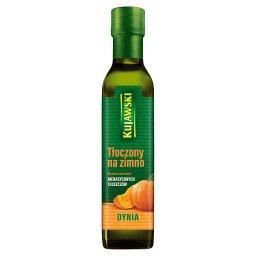 Olej z pestek dyni tłoczony na zimno 250 ml