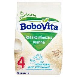 Kaszka mleczna manna bez dodatku cukru po 4 miesiącu