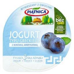 Jogurt typu greckiego z borówką amerykańską