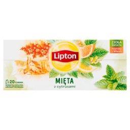 Herbatka ziołowa aromatyzowana mięta z cytrusami  (2...