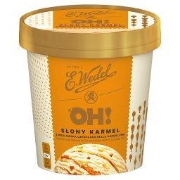 Lody słony karmel z wedlowską czekoladą białą karmel...