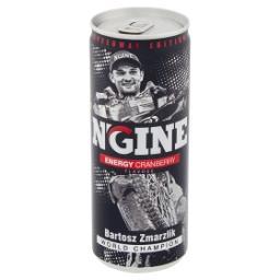Energy Gazowany napój energetyzujący o smaku żurawinowym