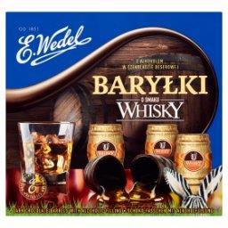Baryłki o smaku whisky