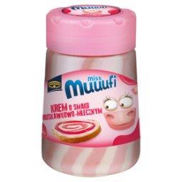Miss Muuufi Krem o smaku truskawkowo-mlecznym