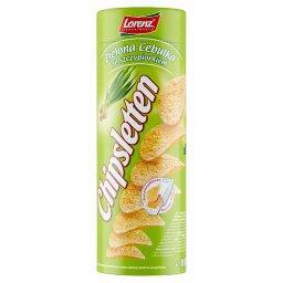 Chipsy ziemniaczane zielona cebulka ze szczypiorkiem