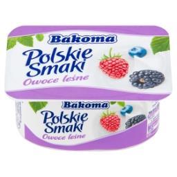 Polskie Smaki Deser jogurtowy z owocami leśnymi