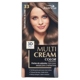 Multi Cream Color Farba do włosów naturalny blond 33