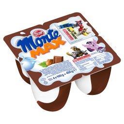 Monte Max Deser mleczny z czekoladą i orzechami 400 ...