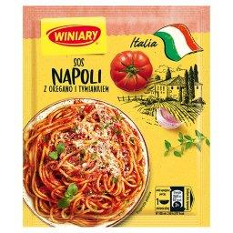 Italia Sos Napoli z oregano i tymiankiem