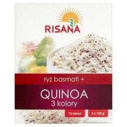Ryż basmati + Quinoa 3 kolory 200 g (2 torebki)