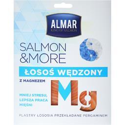 Salmon &more łosoś wędzony z magnezem plastry 100g