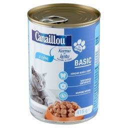 Karma dla kota kawałki w sosie z rybą