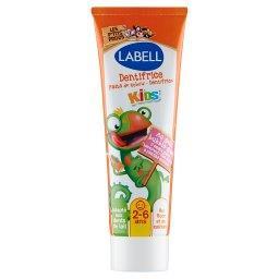 Pasta do zębów dla dzieci 2-6 lat o smaku gumy balon...