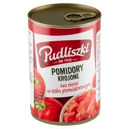 Pomidory krojone bez skórki w soku pomidorowym