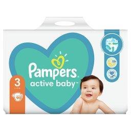Active Baby, rozmiar3, 90pieluszek, 6kg-10kg