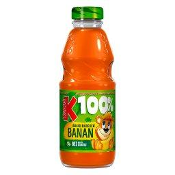 100% Sok jabłko marchew banan