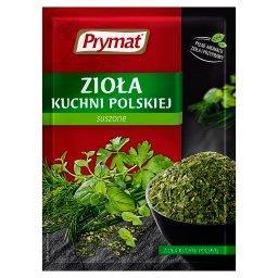 Zioła kuchni polskiej suszone