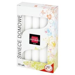 Świece domowe białe 20 mm/170 mm czas palenia 6 h 10...