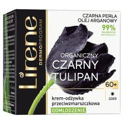 Organiczny czarny tulipan 60+ Krem-odżywka przeciwzm...