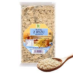 Płatki z ryżu brązowego 200g