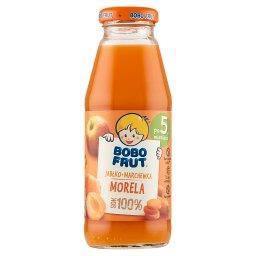 100% sok jabłko marchewka morela po 5. miesiącu