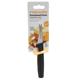 Nóż do obierania zagięty Functional Form 7 cm