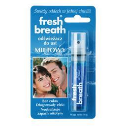 Odświeżacz do ust fresh breath - miętowy