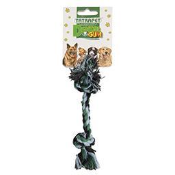 Zabawka Sznur kolorowy zabawka dla psa 2 węzły 20 cm