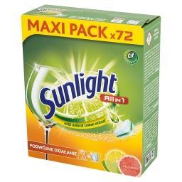 All in 1 Citrus Fresh Tabletki do zmywarki  (72 sztuki)
