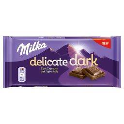 Delicate Dark Czekolada z mleka alpejskiego 85 g