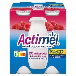 Mleko fermentowane o smaku malinowym 400 g (4 x )