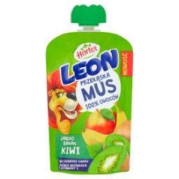 Leon Mus owocowy jabłko banan kiwi 100 ml