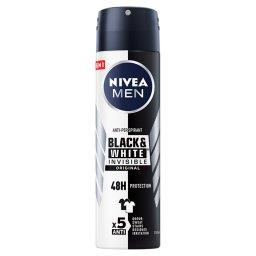 MEN Black&White Invisible Original Antyperspirant w ...